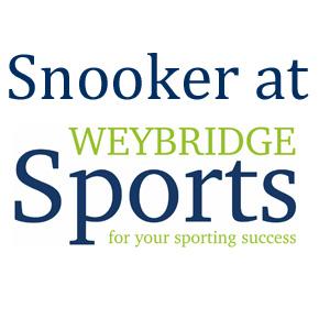 Snooker at Weybridge Sports