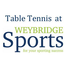 Table Tennis at Weybridge Sports