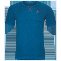 Odlo Ceramicool Blackcomb Running Shirt - Blue